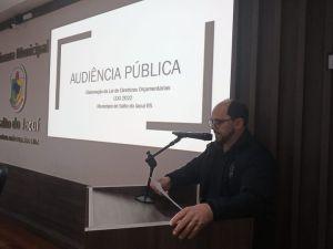 """ldo-2-300x225 """"Quando se trata de orçamento público é muito importante a participação de todos"""" destacou o prefeito municipal, Ronaldo Moraes."""