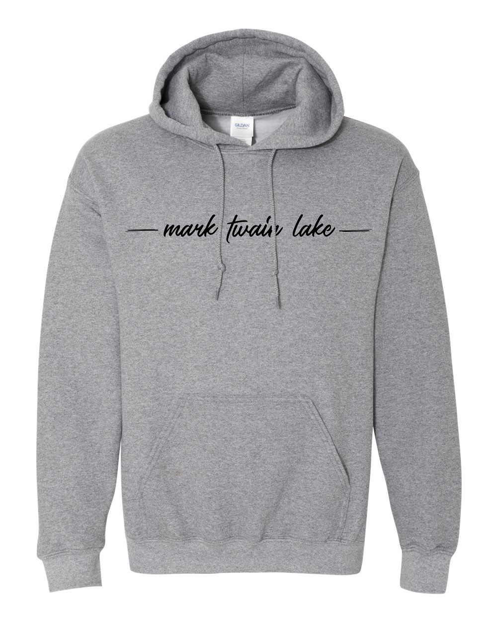 Mark Twain Lake Hoodie graphite