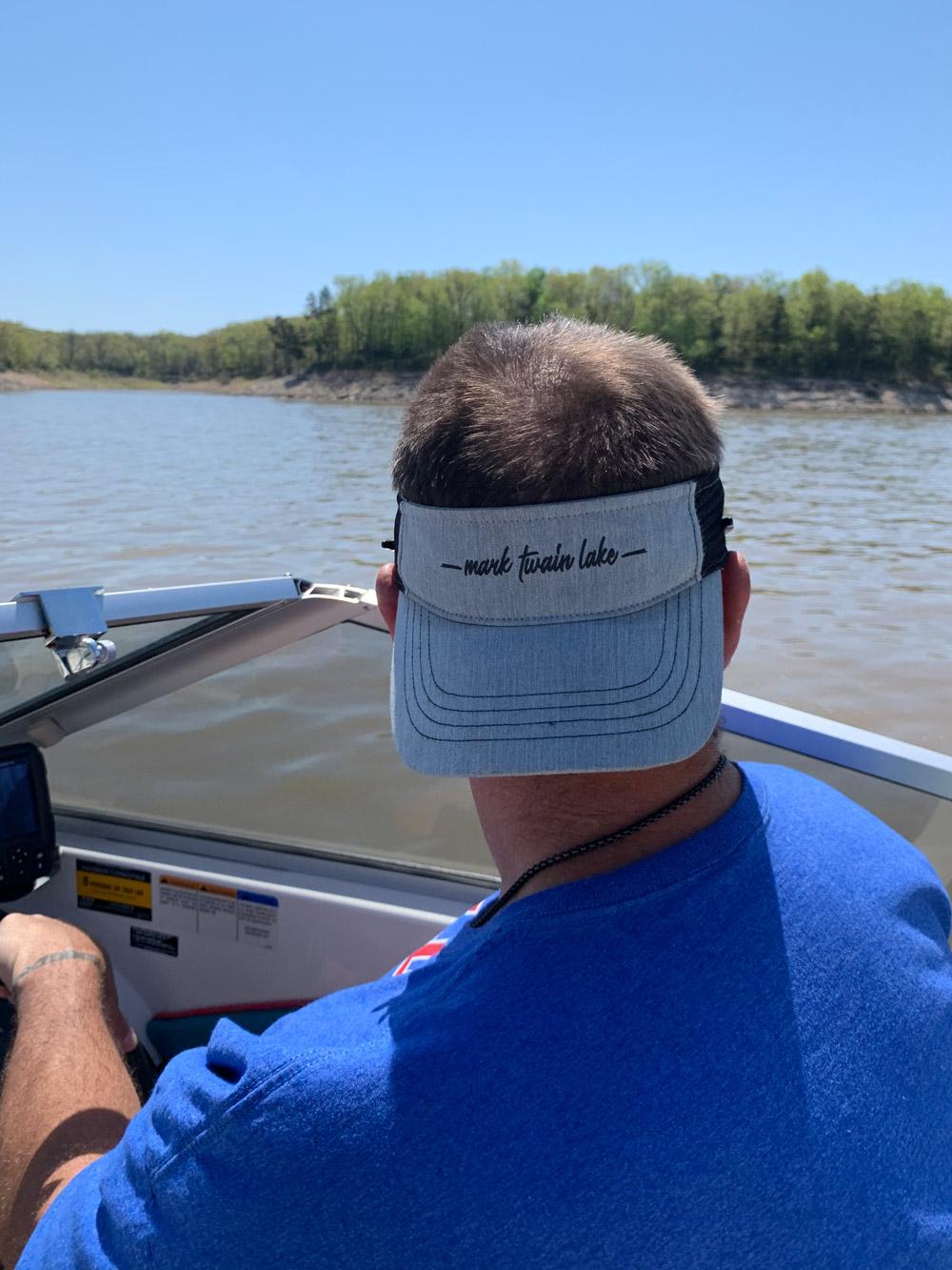 Mark Twain Lake visor