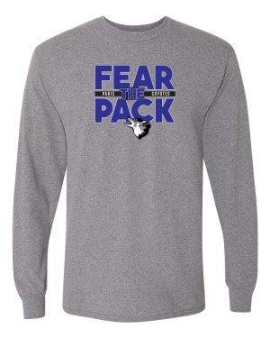 Fear the Pack Long Sleeve T-Shirt