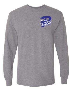 Paris P Long Sleeve T-Shirt - gray