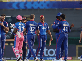 IPL match DC Are Back To The Top Of The Table After Defeating RR By 33 Runs