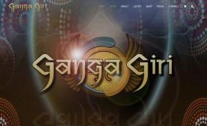 Ganga Giri Web Site Design