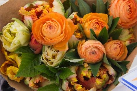 Flowers at the Salt Spring Saturday Market