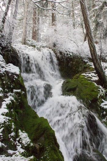 Salt Spring Island Waterfall