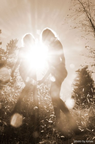 The sisters on Salt Spring Island, BC