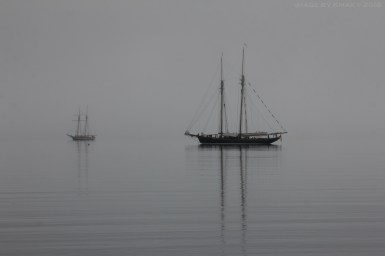 tall ships at anchor, Fulford, Salt Spring Island, BC, Canada, photo by Kenneth Fersht, a.k.a. Kmax © 2018 Salt Spring Photography