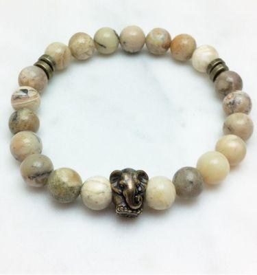 opal mala bracelet