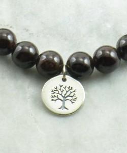 Vriksa Mala Bracelet 21 Mala Beads Yoga Bracelet