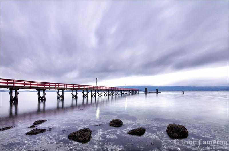 Fernwood Dock, Salt Spring Island by John Cameron