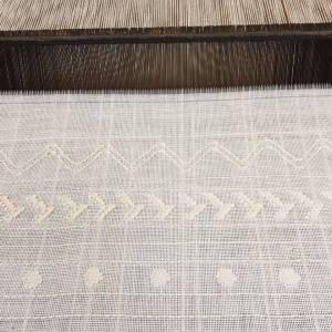Balance weave on backstrap loom by Elise