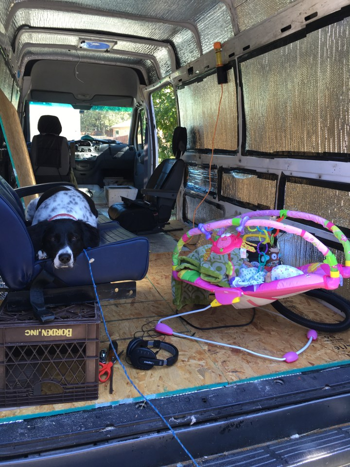 sprinter van conversion insulation