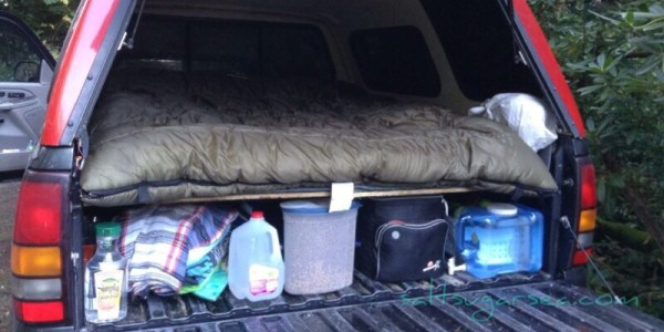 DIY simple carpet kit for truck camper