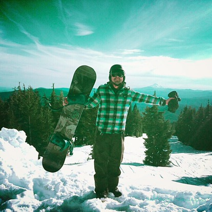 MT Hood Timberline snow in Oregon