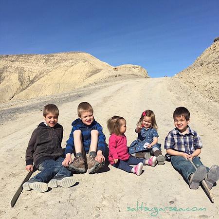 Cousins in west Colorado