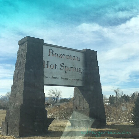 Bozeman hot springs camping