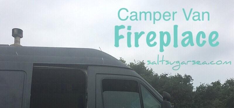 Campervan fireplace