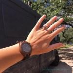 Apache Pine Sqwatch Wooden Watch