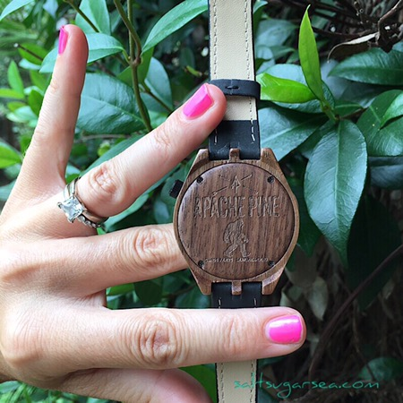 Bigfoot carved wooden Watch review