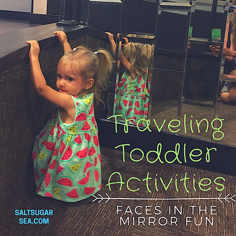 Traveling toddler activities