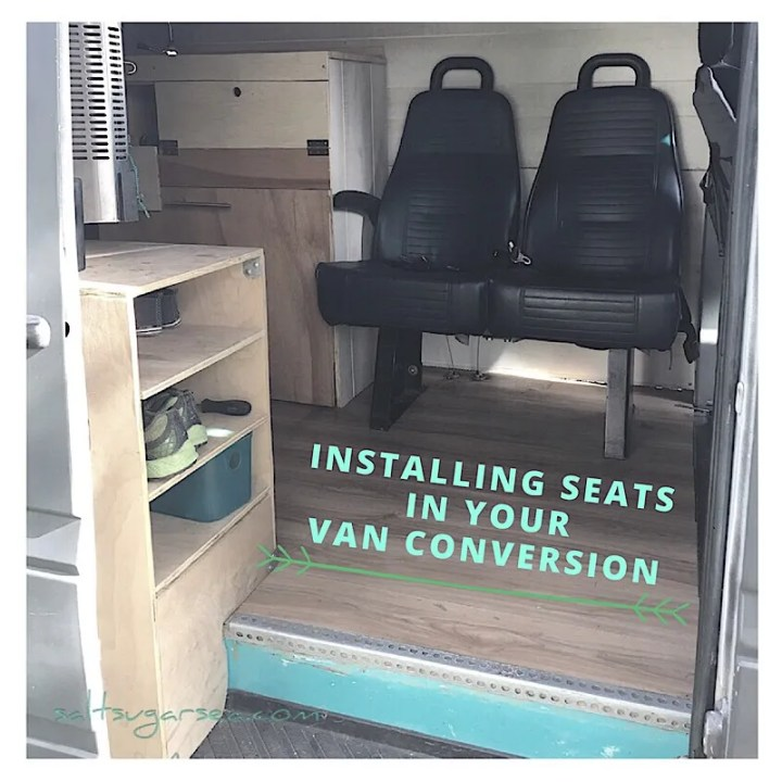 Installing seats diy van Conversion seats