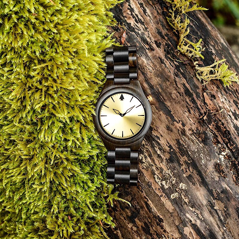 Win a Wooden Watch from Apache Pine