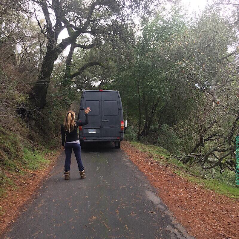 The Van Goodbye Story