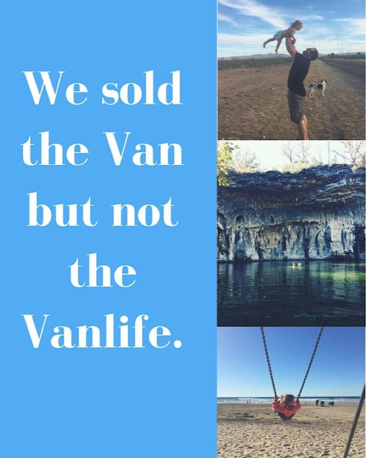 Van goodbye Vanlife love