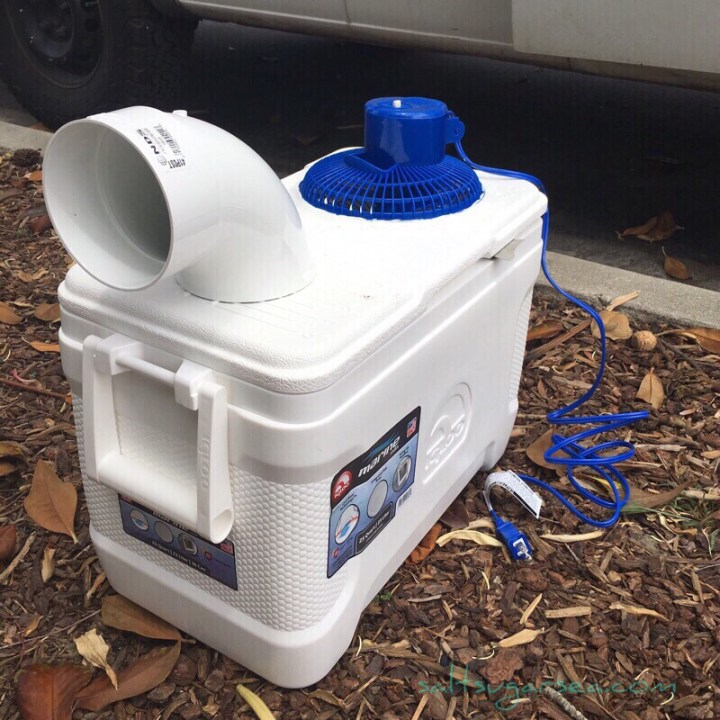 DIY Travel Air Conditioner