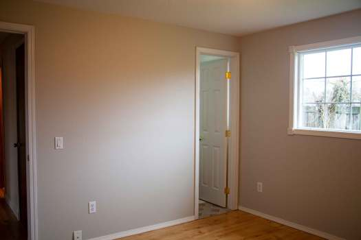 before and after of the master bedroom