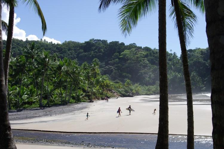 Itacare surfers