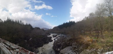 Glen Etive waterfalls