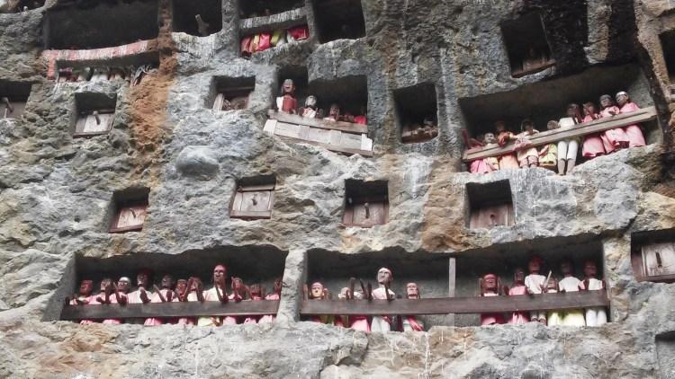 Tana Toraja cliff burials