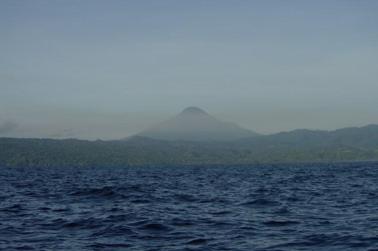 Volcano Lembeh straits