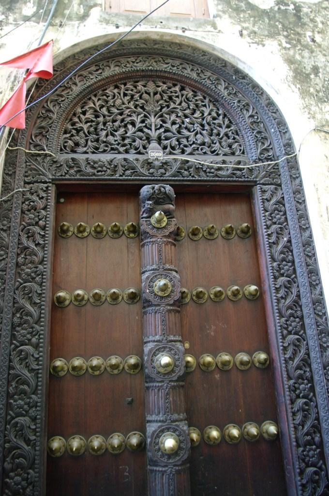 Indian door Stone Town