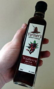Farmer's Artisan Vinegar, Wildberry Bignay Aged Vinegar by Uban Island.