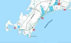 Bike to Fish: Woods Hole to Falmouth Inner Harbor via the Shining Sea Bike Path – Salty Cape