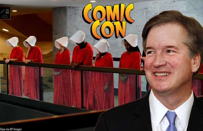 Brett Kavanaugh in Comic Con Mix-up