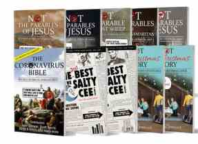 """Police investigate after Salty Cee editor sells 1000 Christian """"comedy"""" books"""
