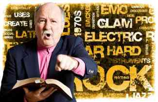 IFB Preachers Shocked to Discover Bible Section That Does Not Mention Rock and Roll Music