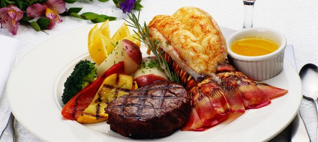 Image result for surf and turf with lobster