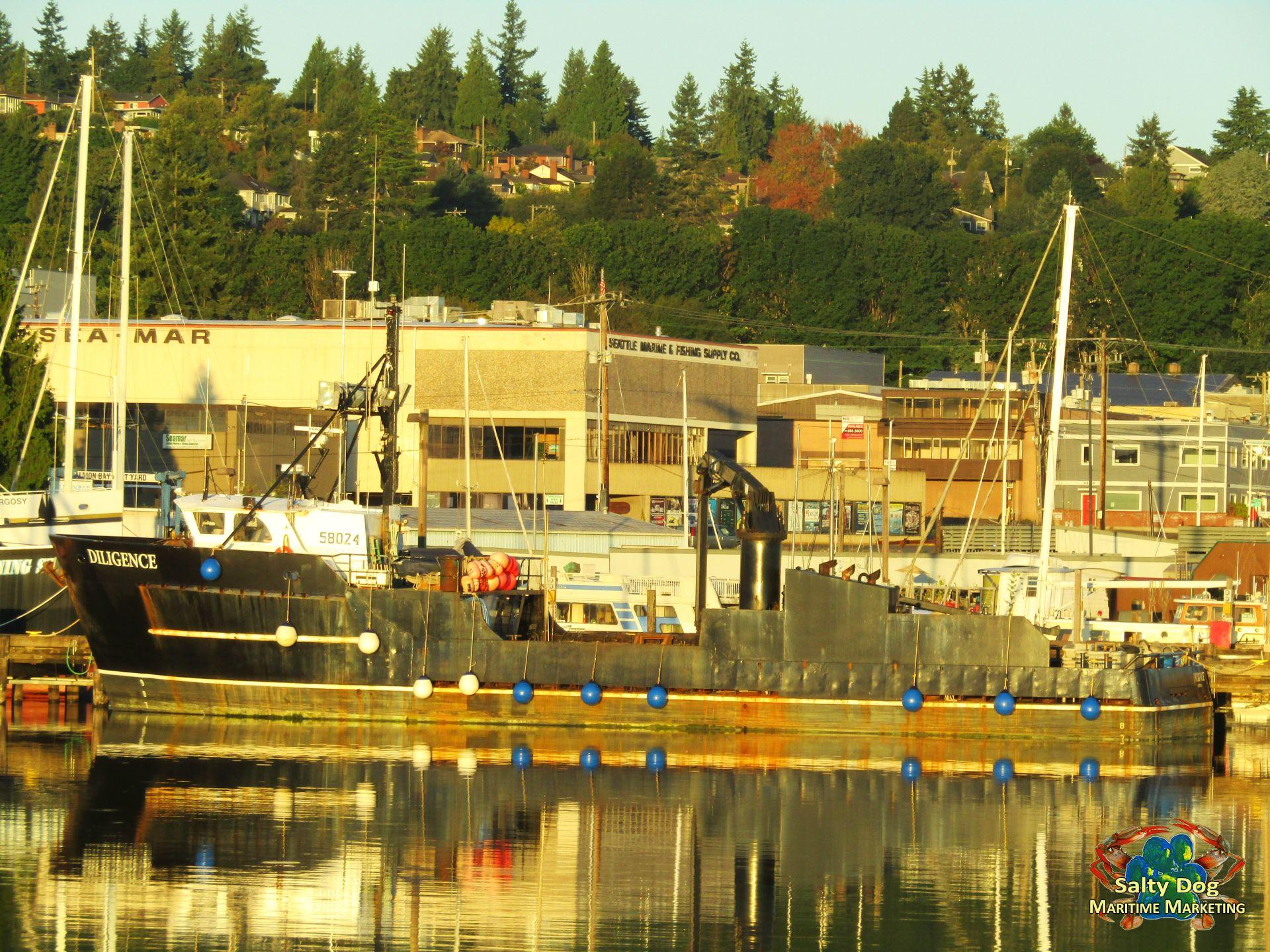 AK Bristol Bay Salmon Tenders FV Destination Trident