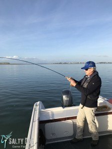 bass fishing Chichester harbour