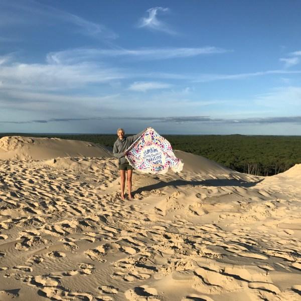 Tag 3-6, Dune du Pilat, Camping Le Panorama du Pyla, km 1.650