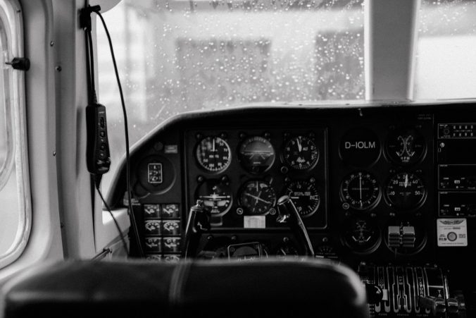 Helgoland mit dem Flugzeug