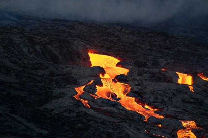 fagradalsfjall lava fluss