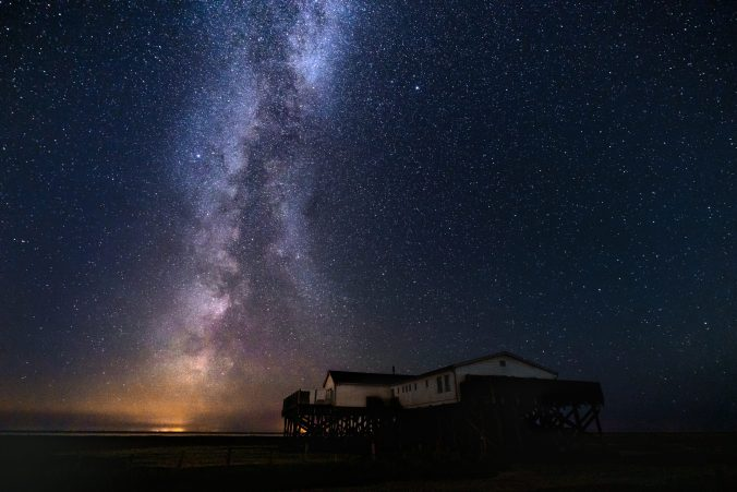 milchstrasse fotografieren nordsee