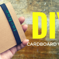 DIY Cardboard Wallet with Accordion Pockets
