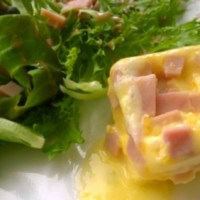 DIY : Square Scrambled Eggs with Silicon Egg Cooker