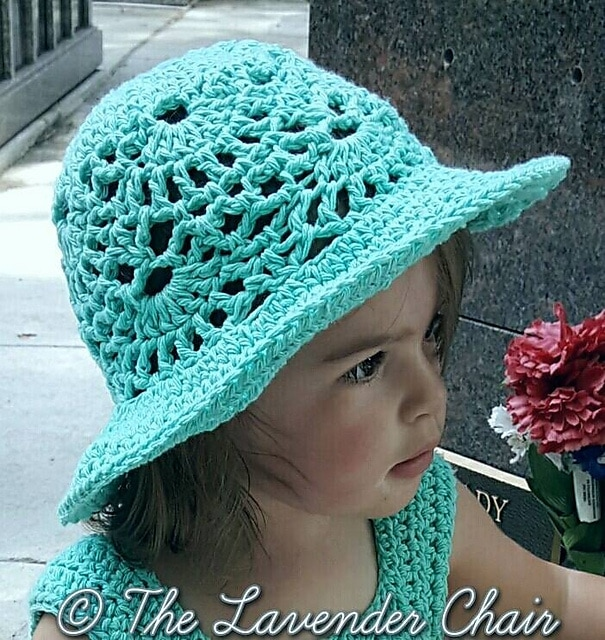 7 Free Crochet Sun Hat Patterns For Children Salty Pearl